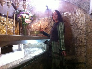 Mother Mary's tomb